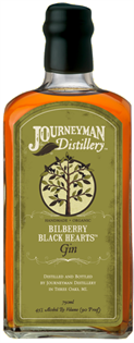 Journeyman Distillery Gin Bilberry Black Hearts Barrel...